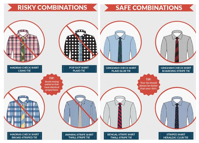 How to choose a tie with your shirt