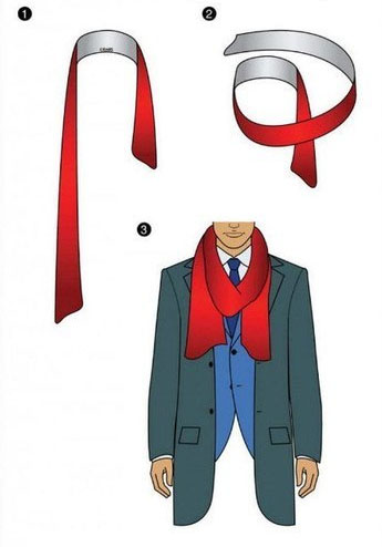How to tie a Scarf - Once Around