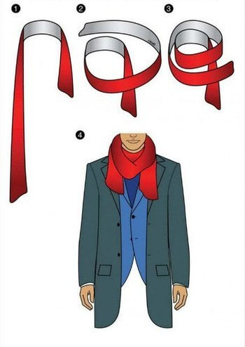 How to tie a Scarf - Twice Around