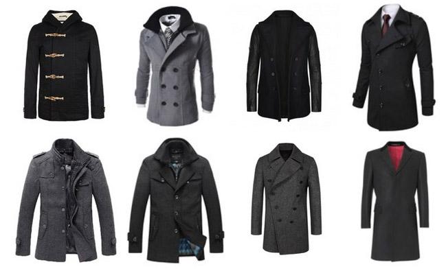 Men coat: what to choose