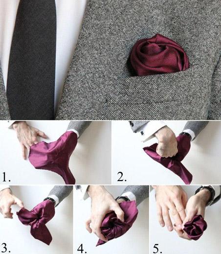how to make a nice jacket pochette