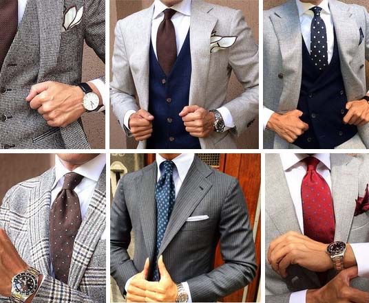 ties in dots